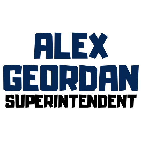 Alex Geordan Superintendent